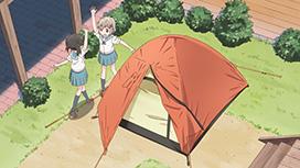 新一合目 テントに泊まろう!