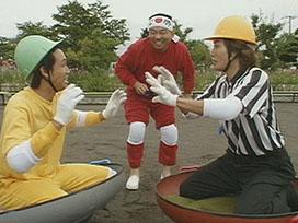 北海道外、初放送!1×8特選レア企画(8) 冬の新スポーツ(2)「鍋相撲」編