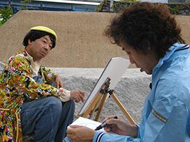 エリート大泉の「1×8町づくり推進室」(4) 小型トーク傑作選 「放浪画家キムラ」