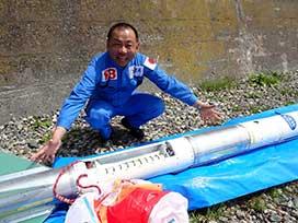 1×8宇宙開発局(2) #8 YOXAロケット発射!