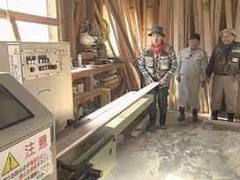 林業振興課(1) 林業振興課④ 製材工場めぐりツアー