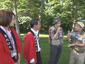 林業振興課(3) 林業振興課⑫ ツリーハウス候補地探し@北広島②
