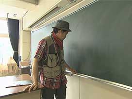 林業振興課(4) 林業振興課⑬ YOYO'Sが特別講師 岩農高校