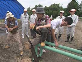 林業振興課(4) 林業振興課⑭ 岩農高校・野外実習