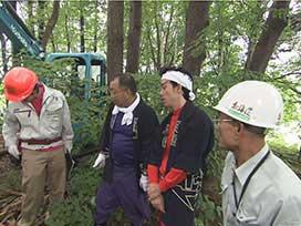 林業振興課(4) 林業振興課⑯ ツリーハウス着工(中)