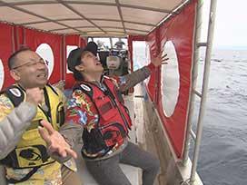 15周年視聴率を獲るぞツアーin沖縄⑤ 石垣島で船釣り&手料理