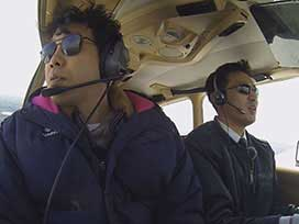 アダルトYOYO'Sへの道(4) アダルトYOYO'Sへの道「パイロット実機搭乗編」②  丘珠空港で実機フライト