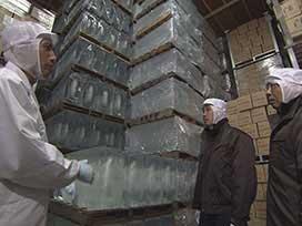大人の社会見学 第6弾 大人の社会見学 第6弾① 製氷工場に潜入