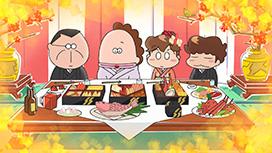 13話 タチバナ家の元日/ご町内もちつき大会/短過ぎるお正月