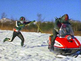 第46話 「対決!!雪山怪人ベアーコンガー」