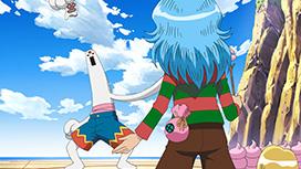 第12話「激闘!伸身弾VS恐怖の大王」