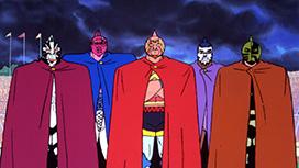 第2話 「城取り合戦! 邪悪な神の陰謀」の巻