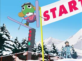 第44話 ケロロVS冬樹 スポーツで激闘 であります/クルルVS秋 侵略ロボで爆闘 であります