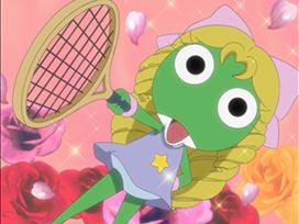 第56話 夏美&小雪 テニスのプリンセス であります/ケロロ 侵略日和のさつき晴れ であります