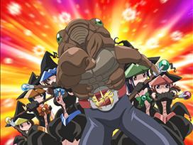 第四話 それゆけ!外道乙女隊 第4話/絶対正義ラブフェロモン 第4話