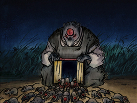 第158話 大暴走無数の妖怪ネズミ