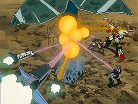 第23話 宇宙の大樹/機械植物 メカージュ星人、ガンドロイド T96登場