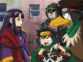 第15話 紫と緑の賭け さらば疾風丸!?