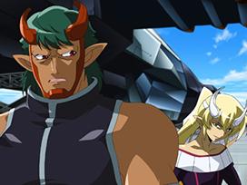 第2話 二人のブレイヴ使い 月光龍ストライク・ジークヴルム咆哮!