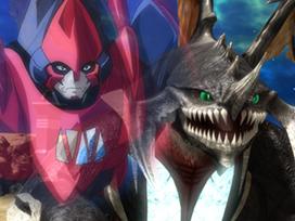 第41話 光龍騎神サジット・アポロドラゴンvs亡霊の赤デッキ