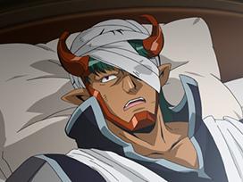 第44話 背徳のXレア 蛇皇神帝アスクレピオーズ