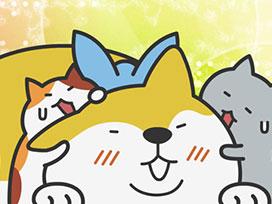 9さやめ 子猫が2匹、犬が1匹