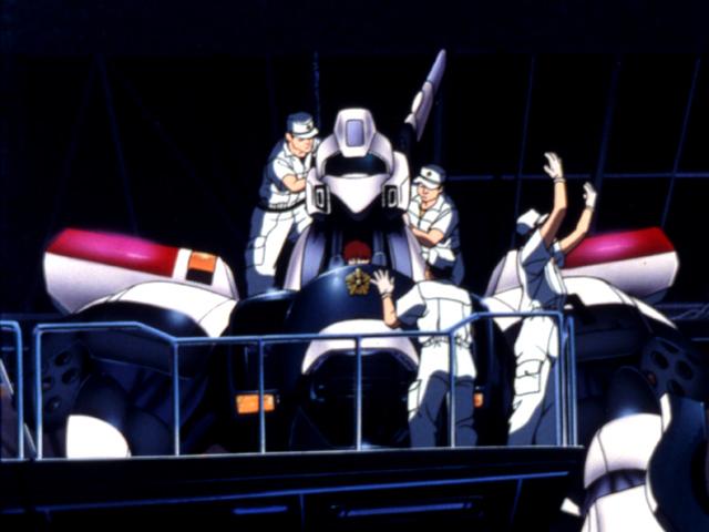 【7月新作追加】<br>機動警察パトレイバー NEW OVA