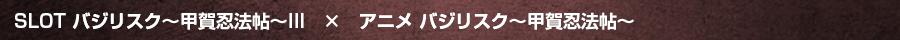 SLOTバジリスク~甲賀忍法帖~III