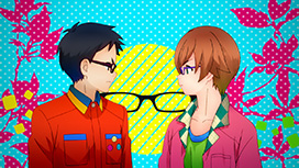 #01 メガネをただの視力矯正アイテム、またモテアイテムとしてではなく(略)している我がメガネ部