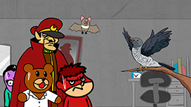#012 カッコウの巣の上で