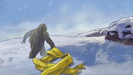第2話 雪の中の妖精