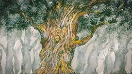 第13話 霧につつまれた樹木