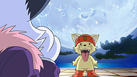 第13話「驚がく!満月の野獣!!」