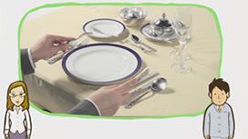 【フランス料理】食器のマナー