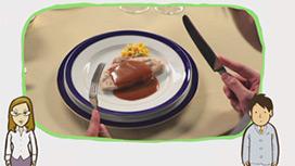 【フランス料理】肉料理の食べ方