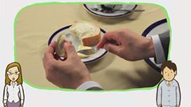 【フランス料理】パン・ご飯の食べ方