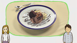 【フランス料理】デザートの食べ方