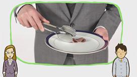 【立食パーティ】食事を取りに行く時のマナー