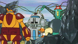 第12話 激突!ロボット軍団