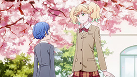 第一幕「桜舞い散る木の下で」