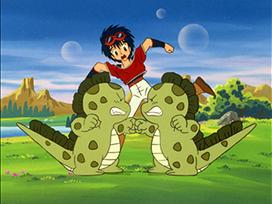 第12話 死闘、恐竜牧場の決闘 宇宙編II