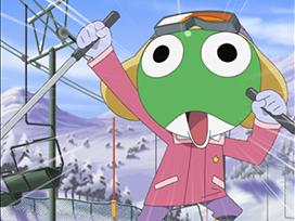 第195話 夏美 私もスキーに連れてって! であります/ケロロ 温泉っつうたら卓球だ であります