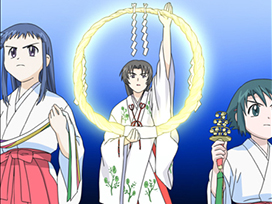 其之一~其之二 巫女三姉妹見参/入学式異変