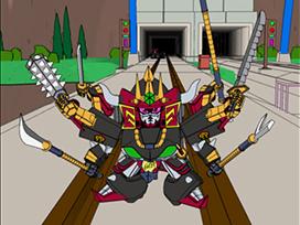 第17話 新たな刺客、その名は阿修羅丸