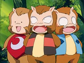 第88話 猿神さまの三精霊