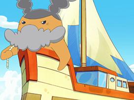 第35回 第69話「海の男!キャプテン号っち来航」/第70話「タラララララーン!ラブパパリっちの珍メニュー」