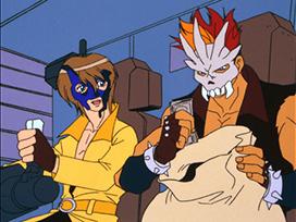 第13話 ロボット強盗団を追え