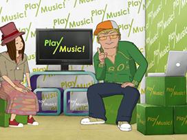 音楽で遊ぼう♪のコーナー