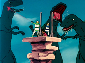 第14話 肉食恐竜VS巨人族 インカ砦の死闘