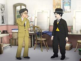 喜劇王と新人マネージャー